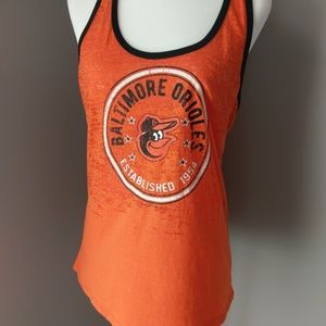 Baltimore Orioles razor back tank top size large